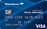 BankAmericard Travel Rewards Credit Card for Students