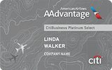 CitiBusiness AAdvantage Platinum Select