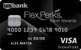 FlexPerks Travel Rewards Visa Card