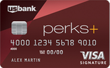 Perks+ Visa Signature Card