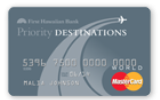 Priority Destinations World MasterCard